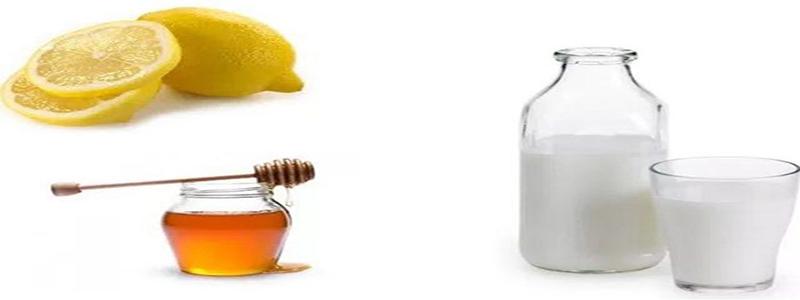 Beauty Tips For Skin - Milk, Lemon Juice, And Honey