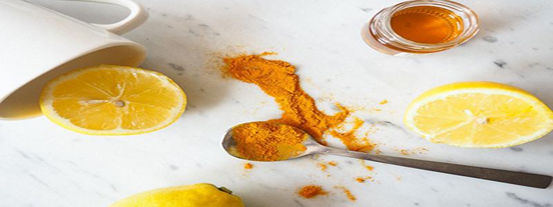 Beauty Tips For Skin -Turmeric And Lemon