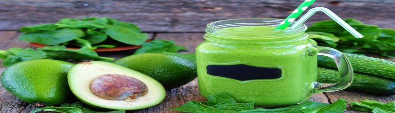 Bone Building Juice Recipe - Avocado Spinach Cucumber Smoothie