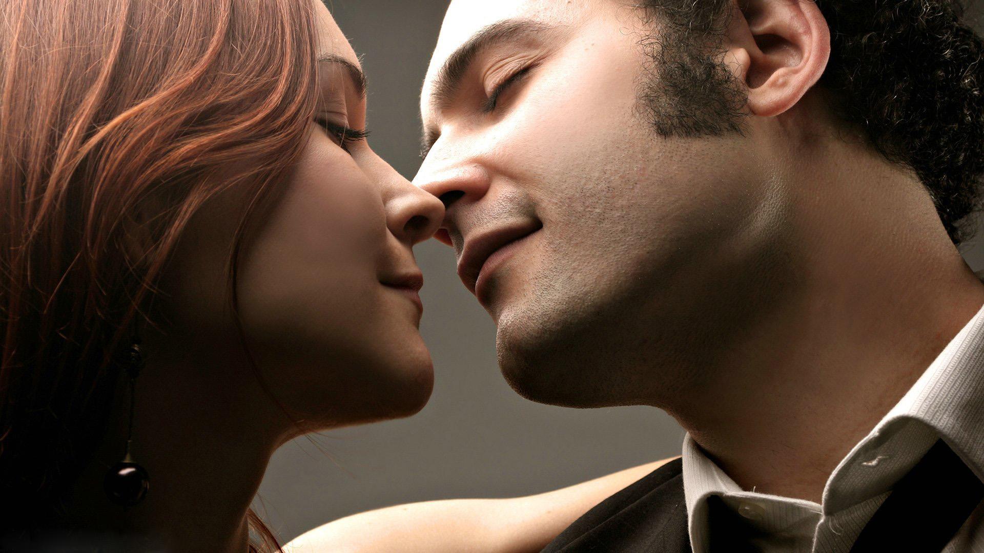 types of kisses - eskimo kiss - nose kiss