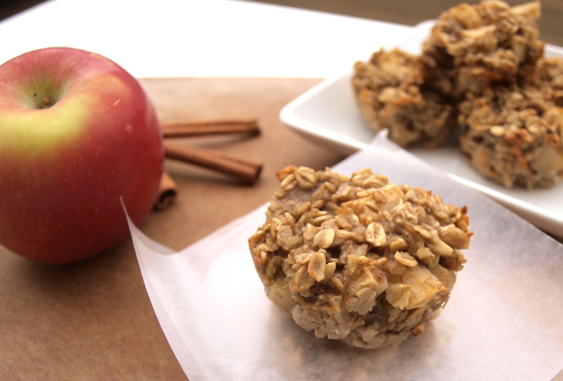 Baked Apple Cinnamon Oatmeal Recipe