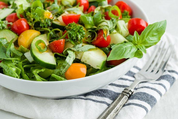 Gluten-Free Lebanese Fattoush Salad Recipe-1