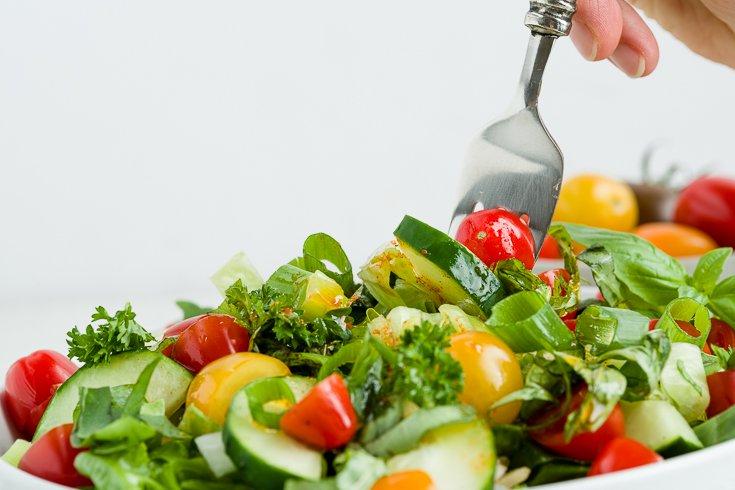 Gluten-Free Lebanese Fattoush Salad Recipe-11