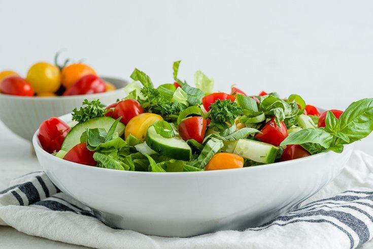Gluten-Free Lebanese Fattoush Salad Recipe